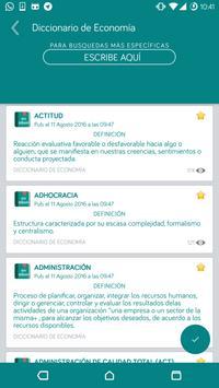 Diccionario de Economía - OFFLINE screenshot 1