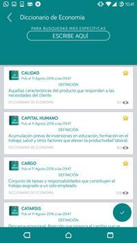 Diccionario de Economía - OFFLINE screenshot 4