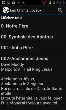 Les Chants Joyeux スクリーンショット 2
