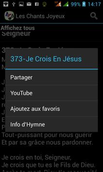 Les Chants Joyeux スクリーンショット 3