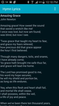 Hymn Lyrics apk screenshot