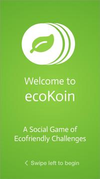 ecoKoin poster