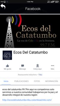 Ecos del Catatumbo 99.7 FM apk screenshot