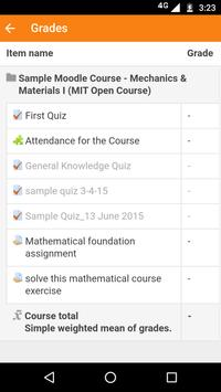 AES Moodle Mobile for staff screenshot 7