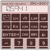 Simple RPN Calculator SRC-30CV icon