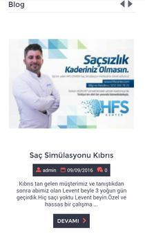 Saç Simülasyonu Hfs Center apk screenshot