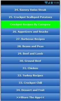 Crockpot Recipes 2  ! apk screenshot