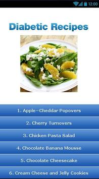 Diabetic Recipes ! poster