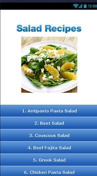 Salad Recipes ! apk screenshot