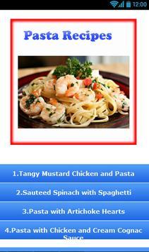 Pasta Recipes ! poster