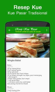 Aneka Resep Jajanan Pasar Tradisional screenshot 3