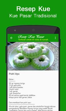 Aneka Resep Jajanan Pasar Tradisional screenshot 2