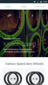 Karbon Speed poster