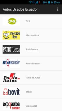Autos Usados Ecuador poster