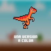 Dino T- Rex  Runner color icon