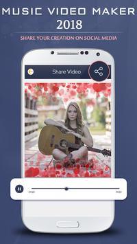 Music Video Maker 2018 screenshot 3