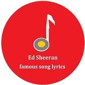Ed Sheeran Music Lyric icon