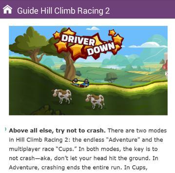 Guide Hill Climb Racing 2 poster
