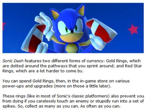 Guide Sonic Dash screenshot 1