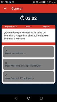 Trivia mundialista screenshot 6