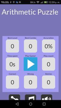 Arithmetic Puzzle screenshot 6