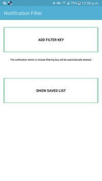 Notification filter Spamfilter ポスター