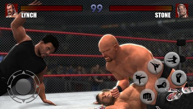 Wrestling Revolution D Exhibition Title Match : Cage wrestling revolution royale championship for
