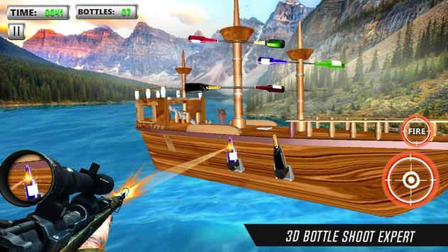 Bottle Shooting Game 3D Sniper apk screenshot