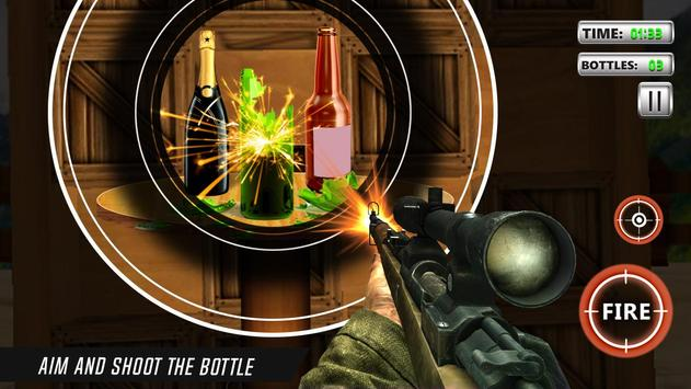 Bottle Shooting Game 3D Sniper screenshot 4