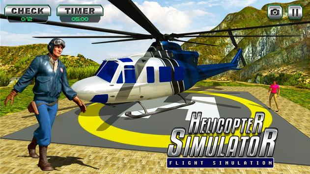Helicopter Flight Pilot Simulator Free Game 2018 for Android