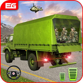 Off Road Army Truck Driving Game icon