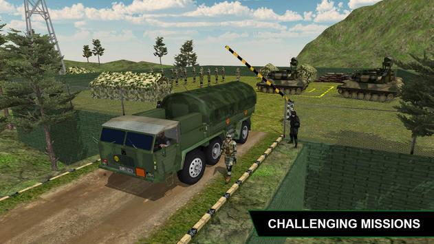 Off Road Army Truck Driving Game apk screenshot
