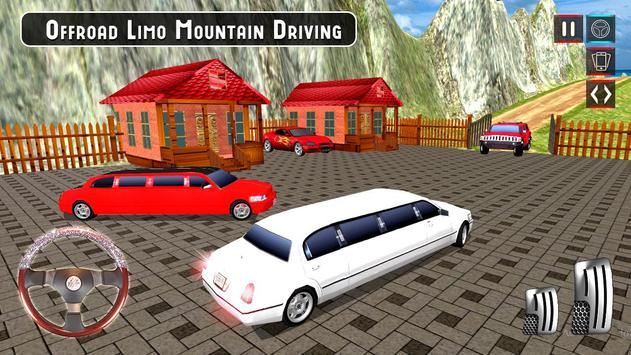 Limousine Car Taxi Offroad Parking Simulator 2018 poster