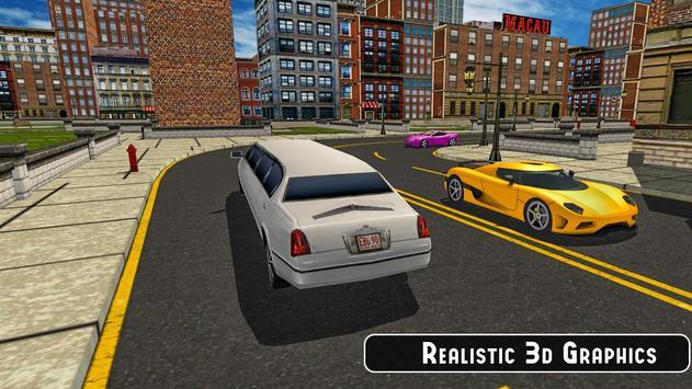 Limousine Car Taxi Offroad Parking Simulator 2018 apk screenshot