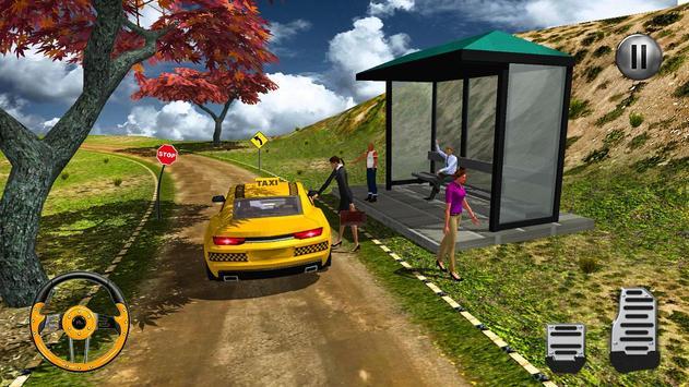 Off-Road Mountain Taxi Driver screenshot 12