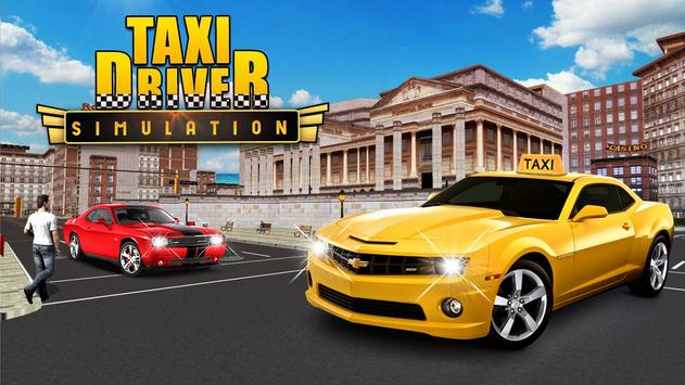Modern City Taxi Cab Driver Simulator Game 2017 poster