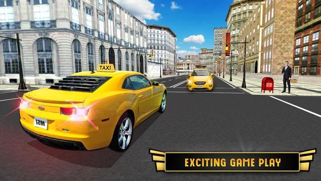 Modern City Taxi Cab Driver Simulator Game 2017 apk screenshot