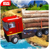 Future Cargo Loaded Truck Driver Logging Simulator icon