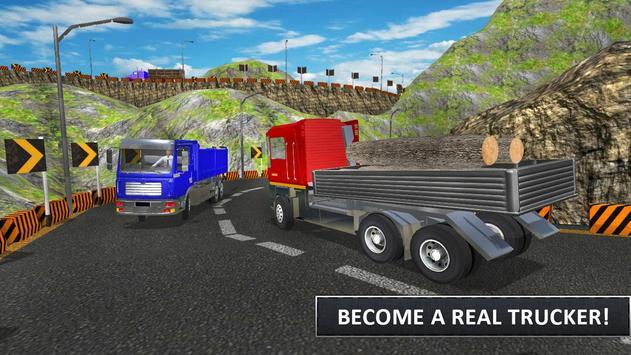 Cargo Truck Driver Simulator 2K18 apk screenshot