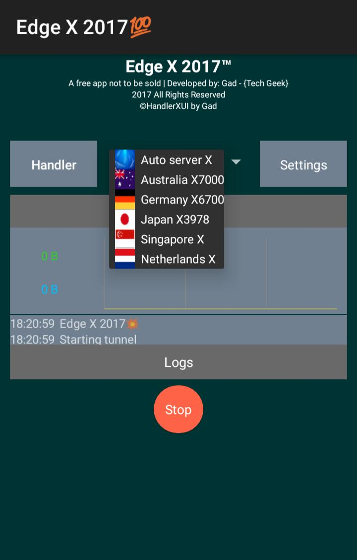 EdgeX Vpn 2017 for Android - APK Download