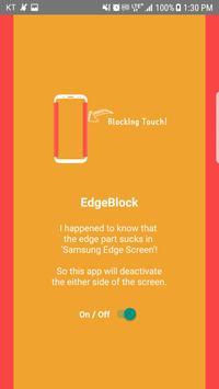 Edge Screen Block, Deactivate - Galaxy Edge Screen apk screenshot