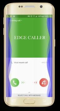 EDGE Incoming Calls Notif poster