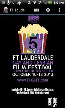Ft. Lauderdale G&L Film Fest poster