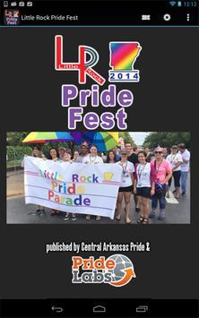 Little Rock Pride Fest poster