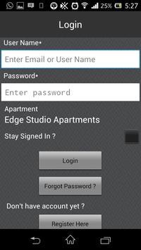 Edge Studio Apartments apk screenshot