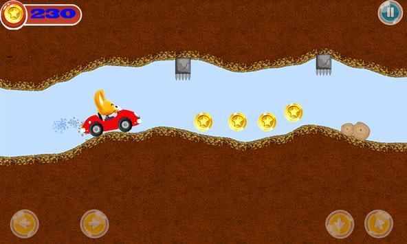Eddy Pororo Racing Car - Free apk screenshot