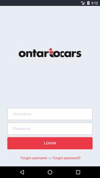 Ontario Cars poster