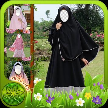 Hijab Syar'i Photo Frames poster