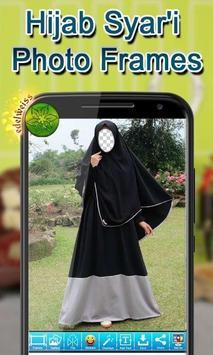 Hijab Syar'i Photo Frames screenshot 11