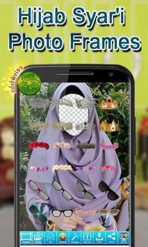 Hijab Syar'i Photo Frames screenshot 2